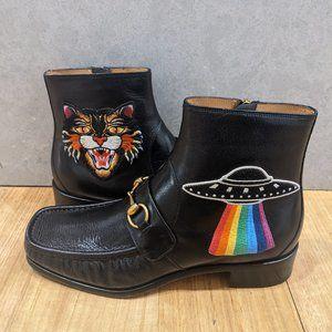 Gucci Horsebit UFO CAT Boots